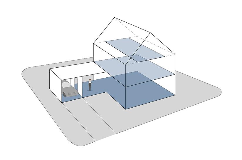 § 5-4 figur 1: Bruksarealet (BRA) for en bygning er summen av bruksarealet for alle måleverdige plan, uavhengig om planet er innredet eller tilgjengelig