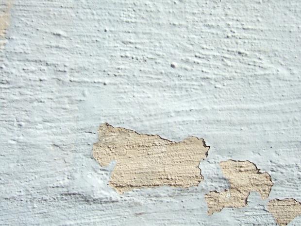 Eksempel på murpuss og maling