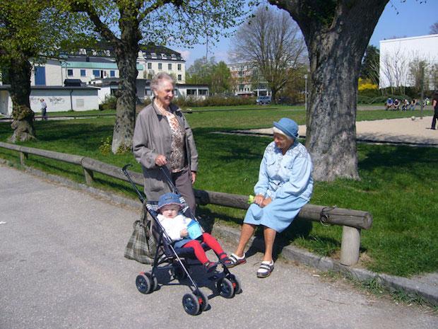 Fig.6 Er uteareal egnet for lek og rekreasjon for alle aldersgrupper? Foto. Tone Rønnevig